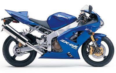 2004 Kawasaki Ninja® ZX-6R 636 in Goshen, New York