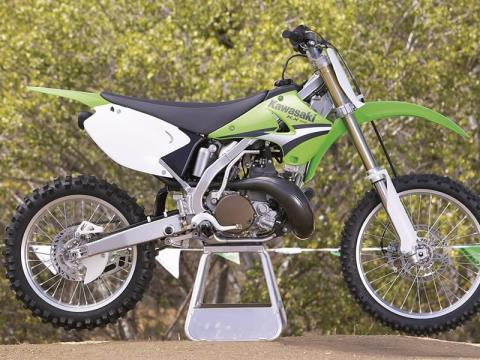 2005 Kawasaki KX250 in MacOn, Georgia