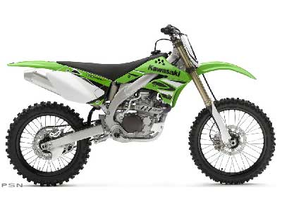 2008 Kawasaki KX™450F in Kittanning, Pennsylvania