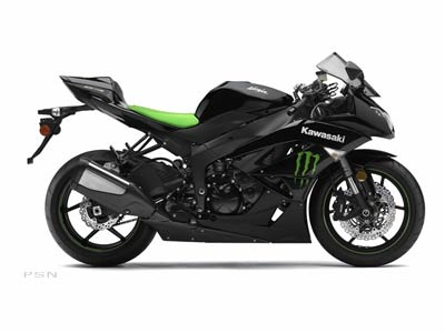 2009 Kawasaki Ninja® ZX™-6R Monster Energy® in Norfolk, Virginia