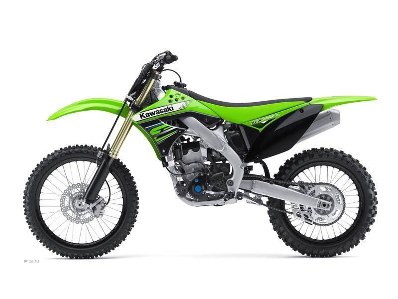 2012 Kawasaki KX250F 8