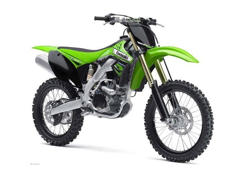 2012 Kawasaki KX250F 9