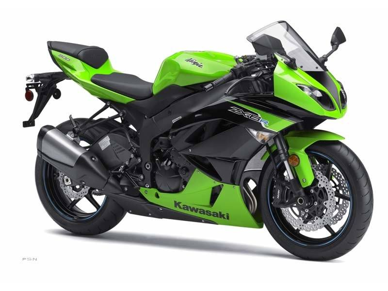 2012 Kawasaki Ninja® ZX™-6R in Virginia Beach, Virginia