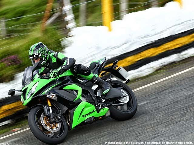 2013 Kawasaki Ninja® ZX™-6R in Baldwin, Michigan