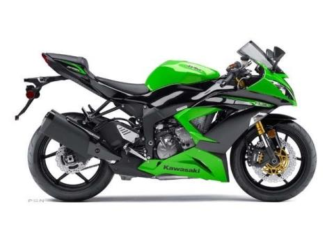 2013 Kawasaki Ninja® ZX™-6R ABS in Port Charlotte, Florida
