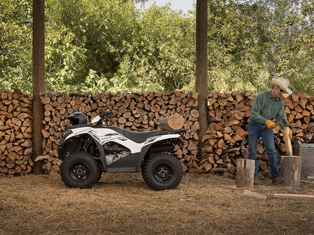 2015 kawasaki brute force® 300 bright white atvs elizabethtown