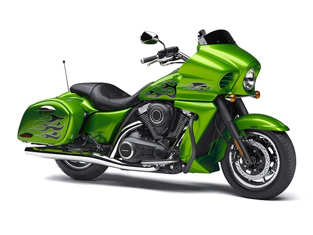 2015 Kawasaki Vulcan® 1700 Vaquero® ABS in Howell, Michigan