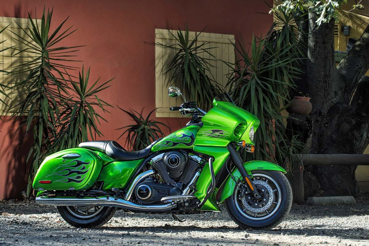 2015 Kawasaki Vulcan® 1700 Vaquero® ABS in Highland Springs, Virginia