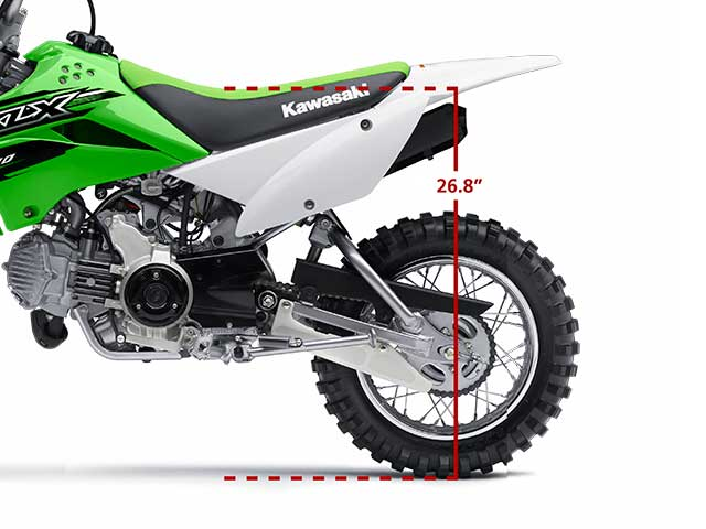 2015 Kawasaki KLX®110 in Howell, Michigan