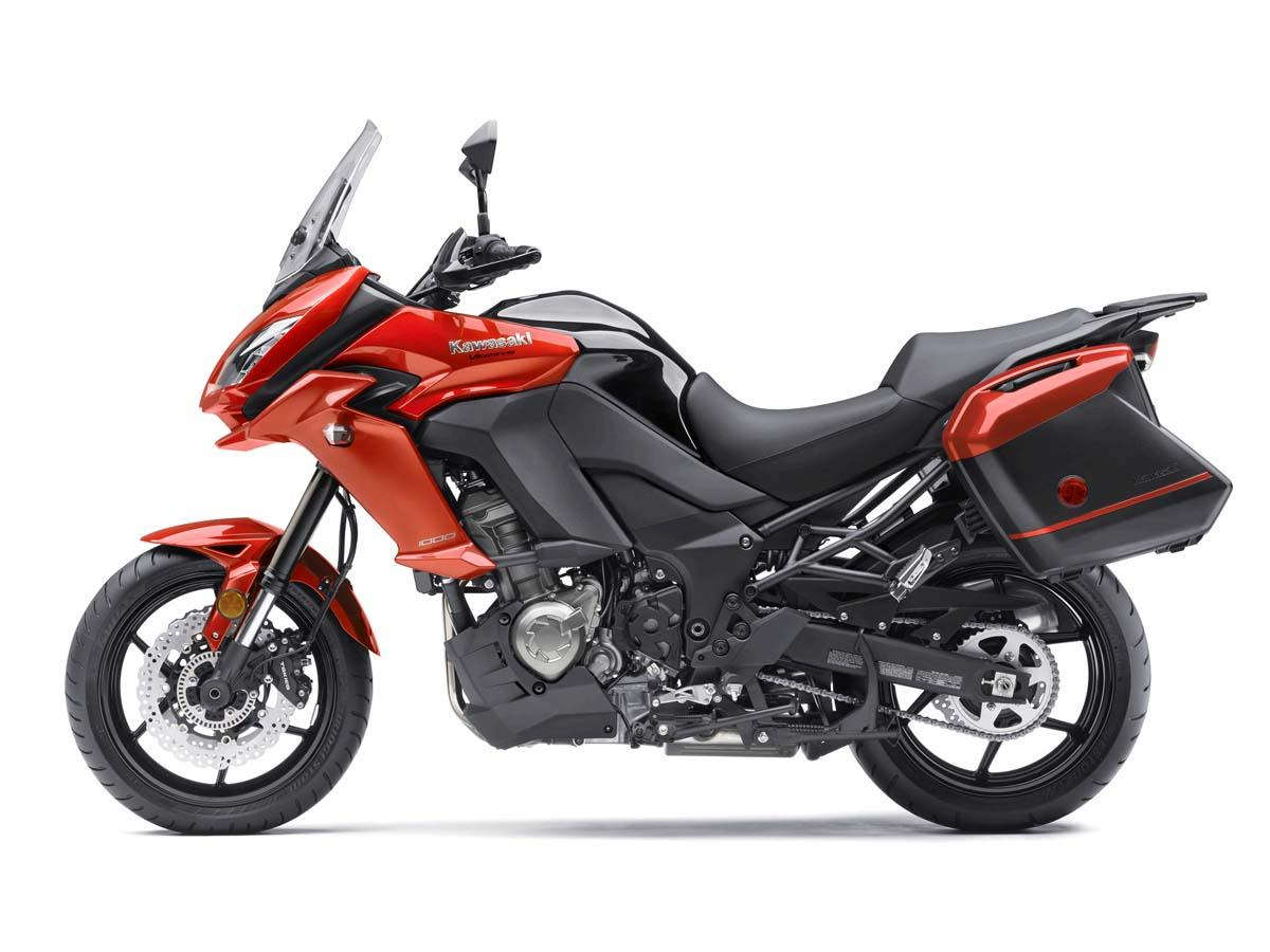 2015 Kawasaki Versys® 1000 LT in Marlboro, New York