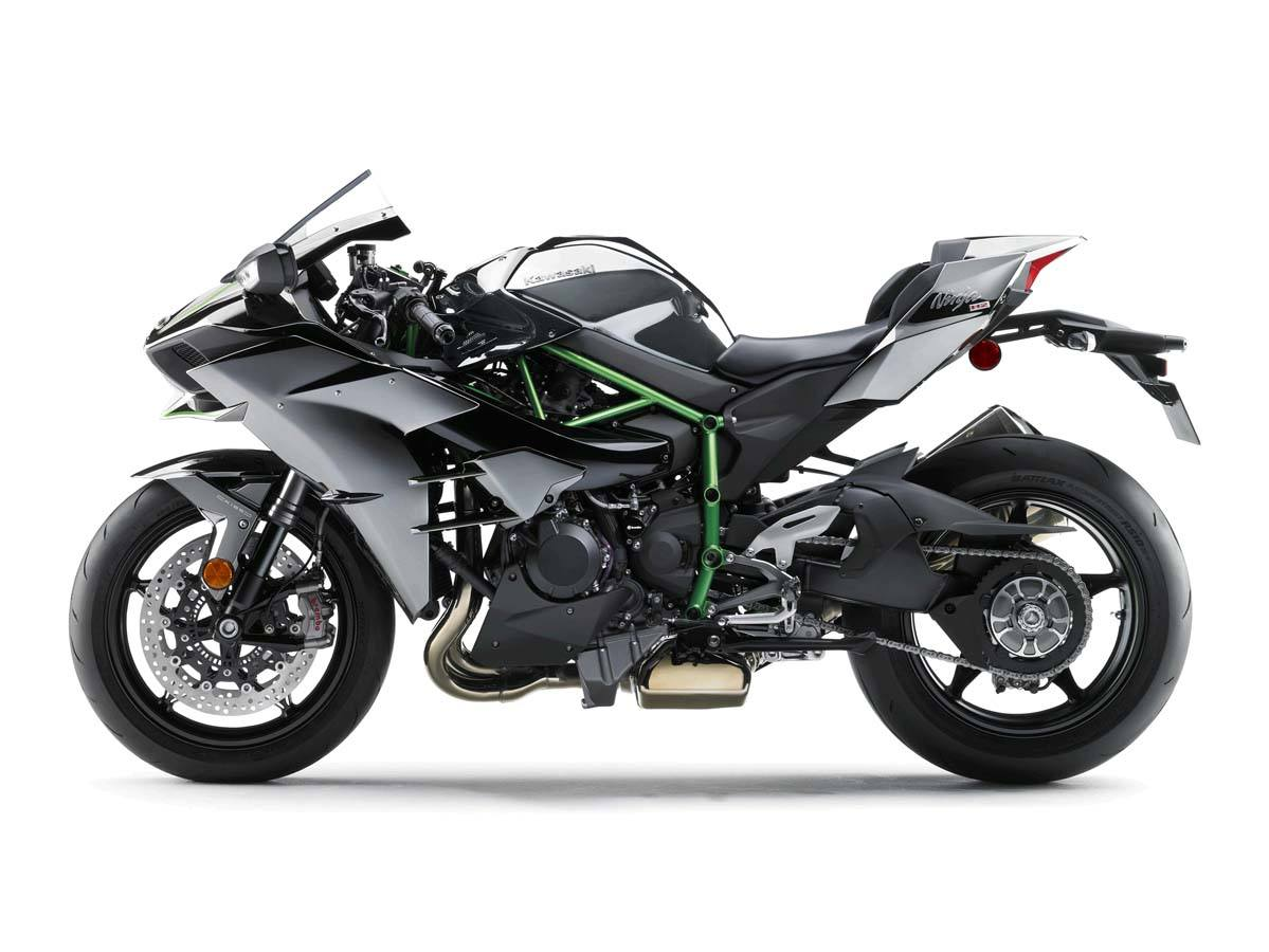 2015 Kawasaki Ninja H2™ in North Reading, Massachusetts