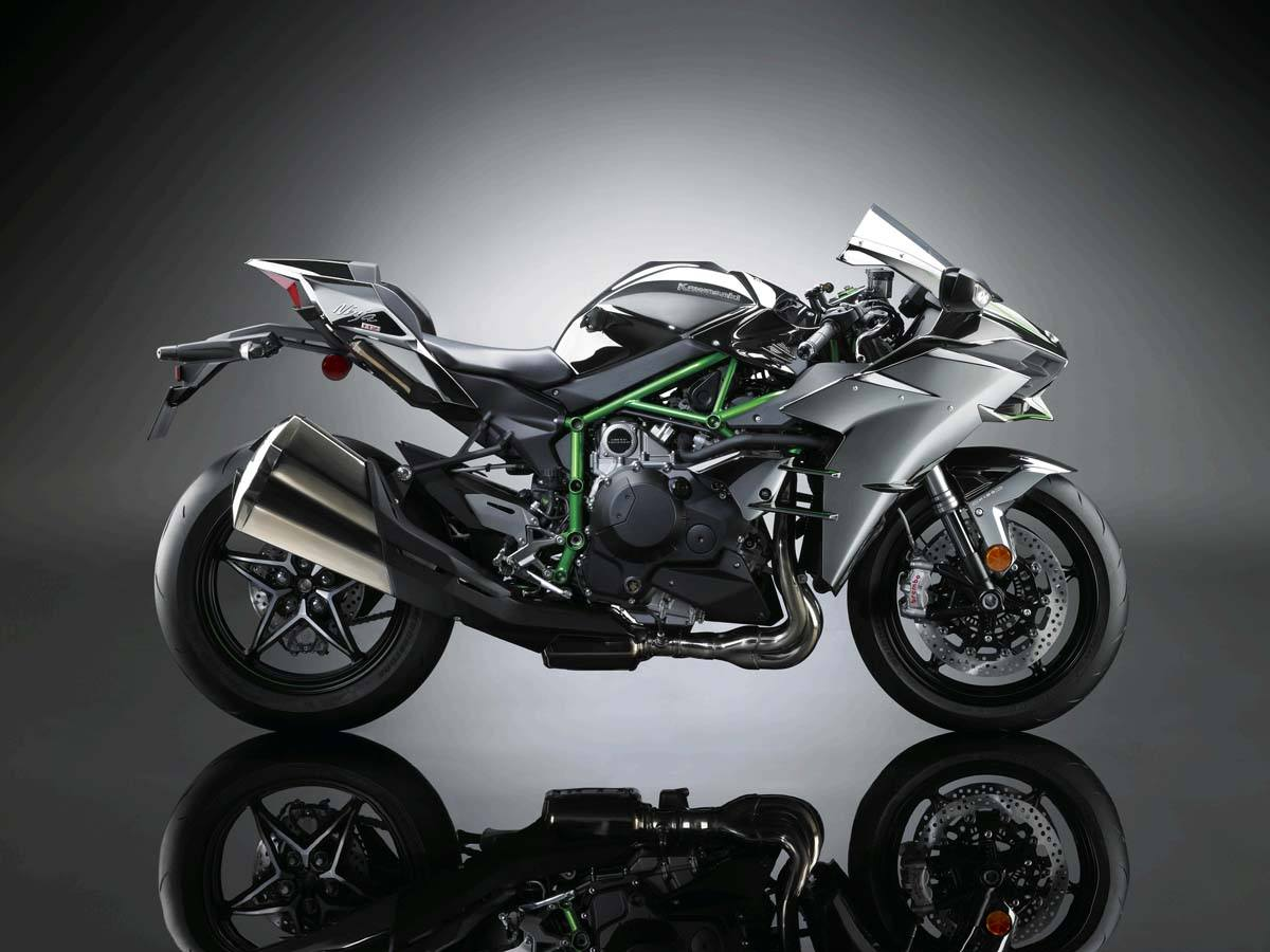 2015 Kawasaki Ninja H2™ in North Reading, Massachusetts - Photo 6
