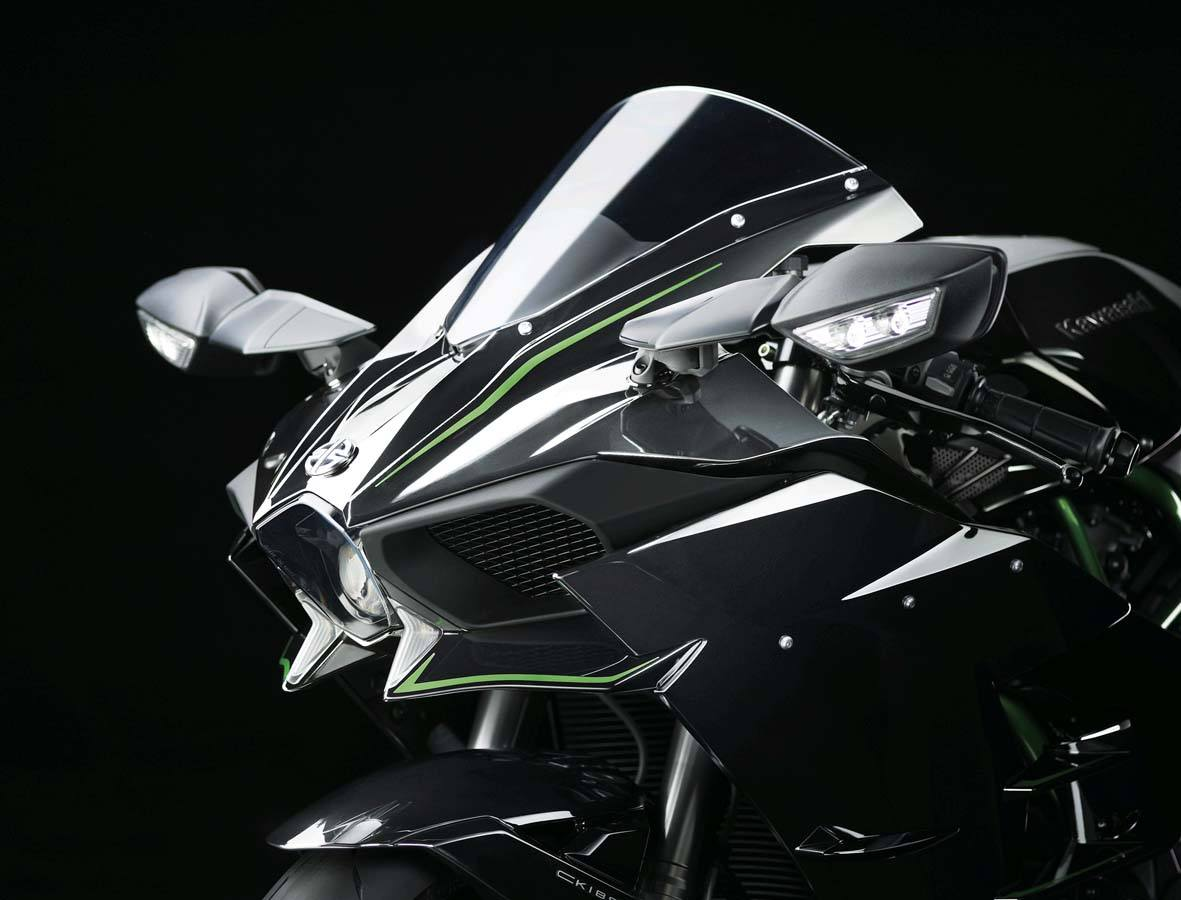 2015 Kawasaki Ninja H2™ in North Reading, Massachusetts - Photo 10