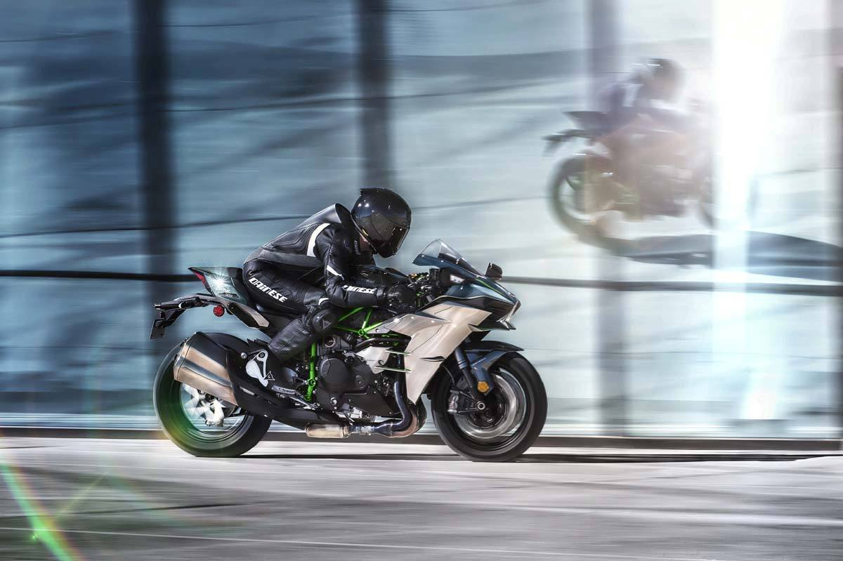 2015 Kawasaki Ninja H2™ in North Reading, Massachusetts - Photo 47