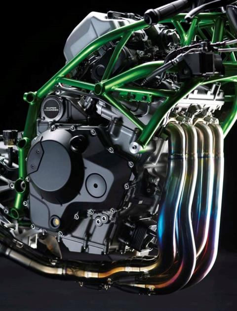 2015 Kawasaki Ninja H2™R in North Reading, Massachusetts - Photo 23