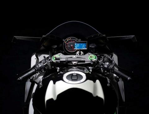 2015 Kawasaki Ninja H2™R in North Reading, Massachusetts - Photo 37