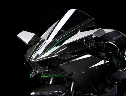 2015 Kawasaki Ninja H2™R in North Reading, Massachusetts - Photo 44