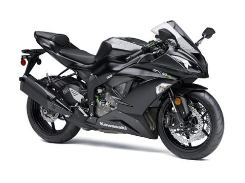 2015 Kawasaki Ninja® ZX™-6R in Howell, Michigan