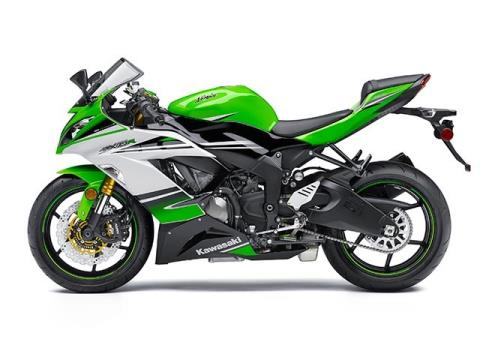2015 Kawasaki Ninja® ZX™-6R 30th Anniversary in Shelby Township, Michigan