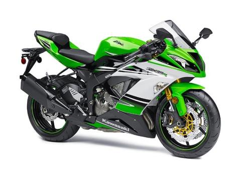 2015 Kawasaki Ninja® ZX™-6R 30th Anniversary in Canton, Ohio