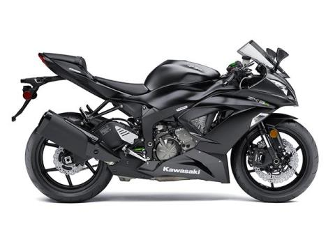 2015 Kawasaki Ninja® ZX™-6R ABS in Port Charlotte, Florida