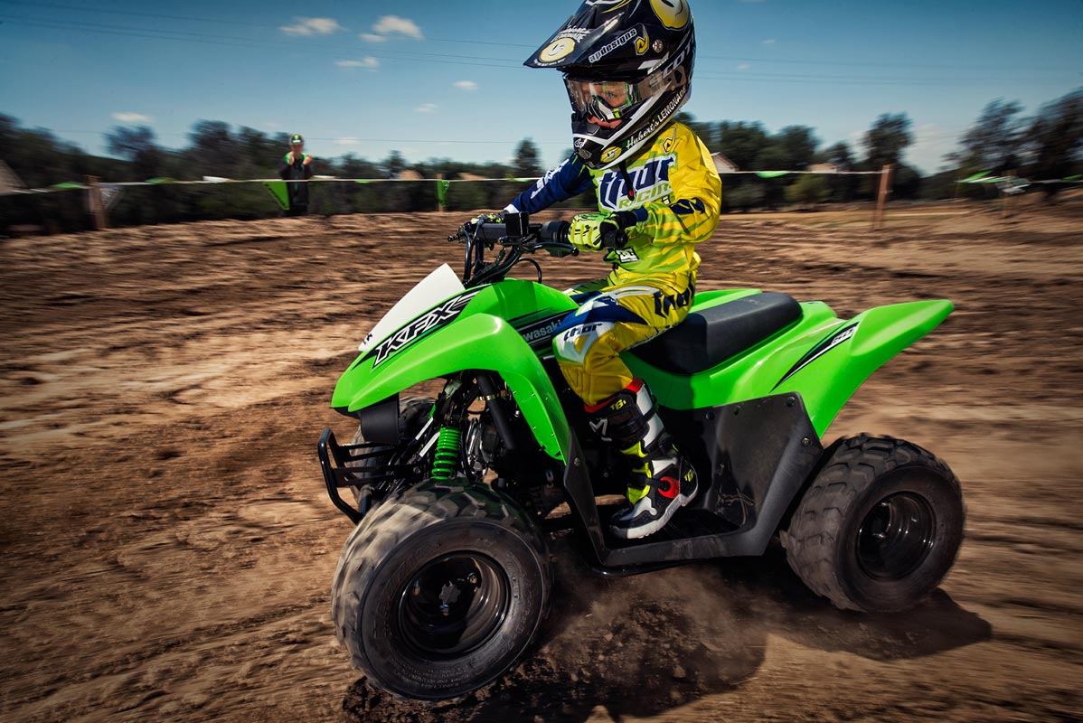 2016 Kawasaki KFX50 in Dimondale, Michigan