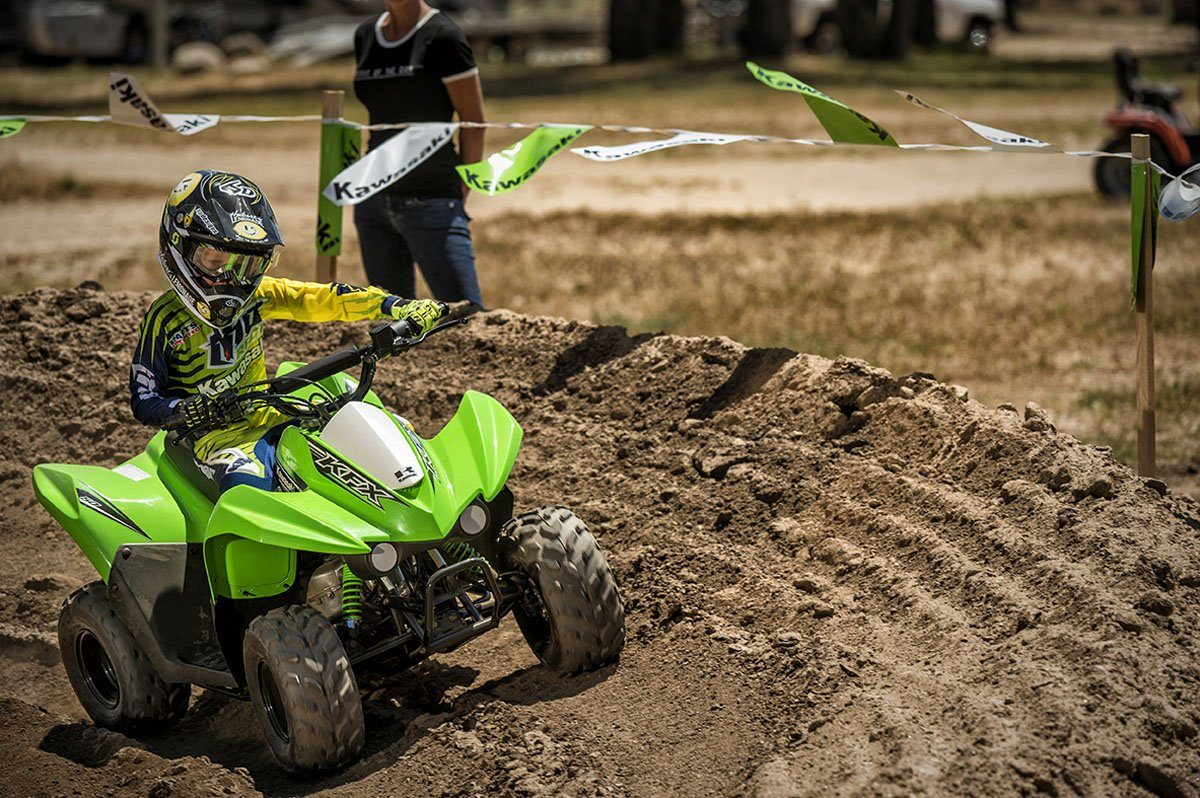 2016 Kawasaki KFX50 in Nevada, Iowa