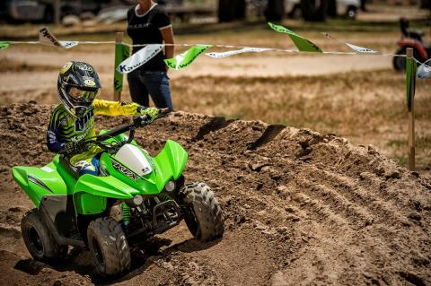 2016 Kawasaki KFX50 in Mount Vernon, Ohio
