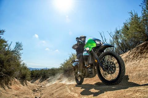 2016 Kawasaki KLR 650 in Roseville, California