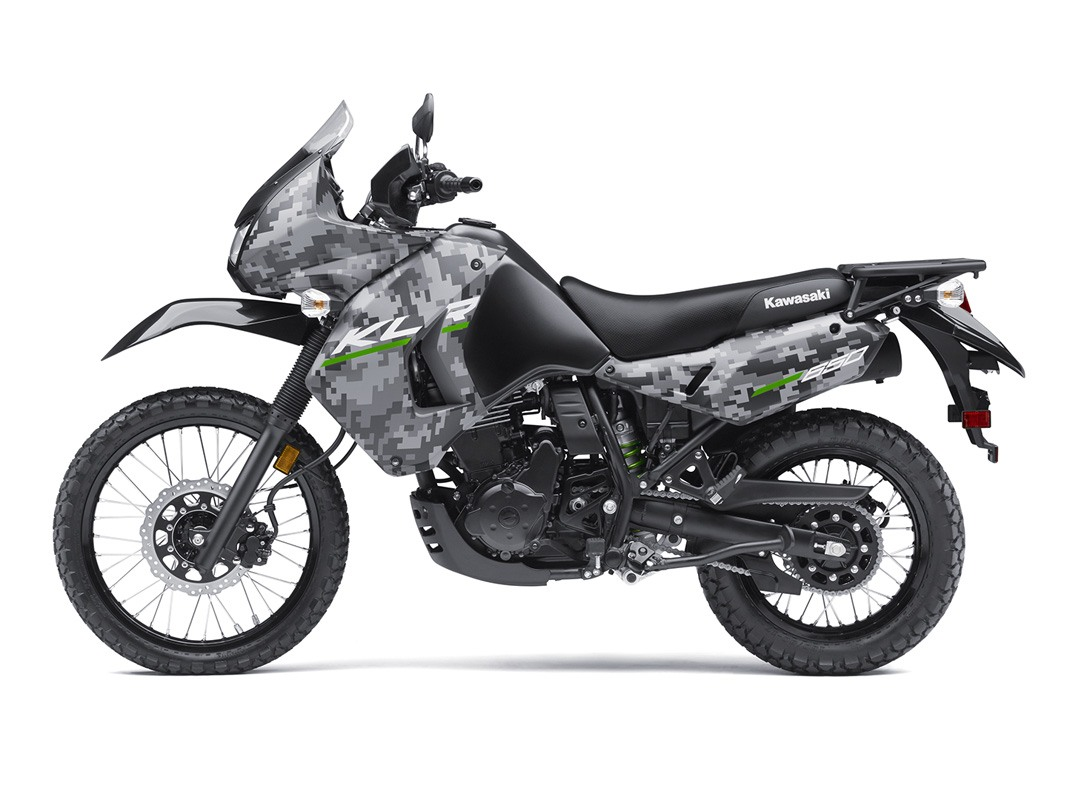 2016 Kawasaki KLR 650 Camo in White Plains, New York
