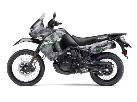 2016 Kawasaki KLR 650 Camo in Dimondale, Michigan