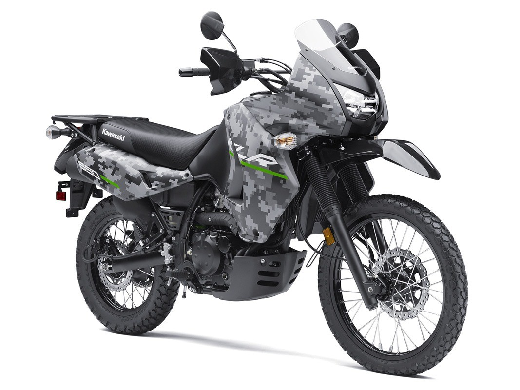 2016 Kawasaki KLR 650 Camo in San Francisco, California - Photo 3
