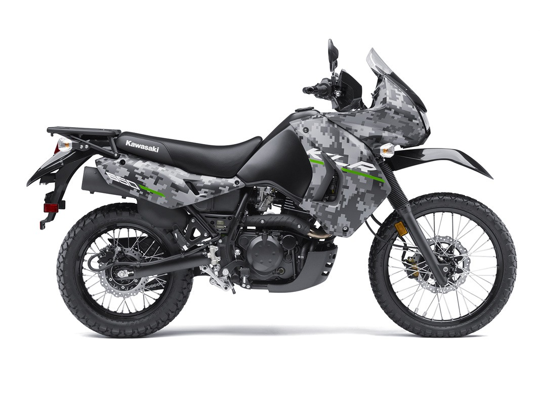 2016 Kawasaki KLR 650 Camo in San Francisco, California - Photo 1