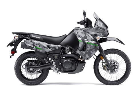 2016 Kawasaki KLR 650 Camo in Cedar Falls, Iowa - Photo 1