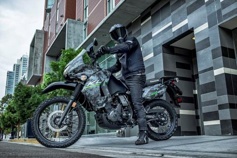 2016 Kawasaki KLR 650 Camo in San Francisco, California - Photo 5
