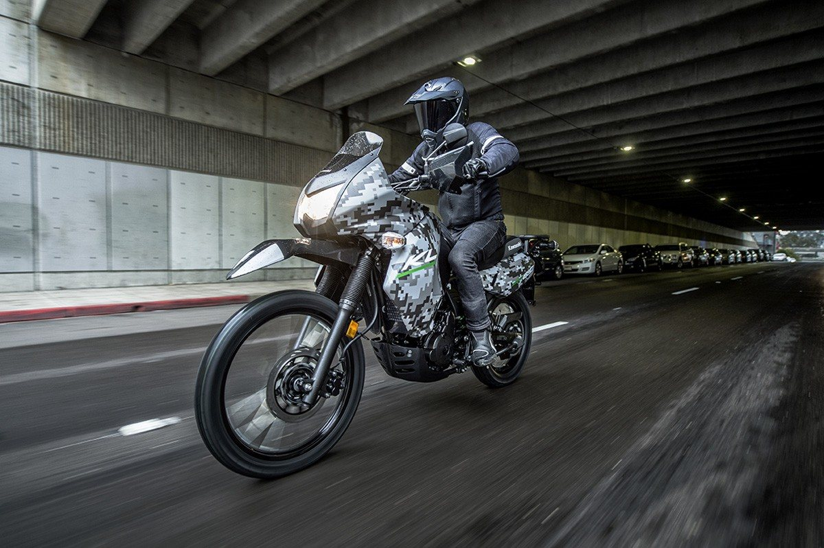 2016 Kawasaki KLR 650 Camo in San Francisco, California - Photo 8