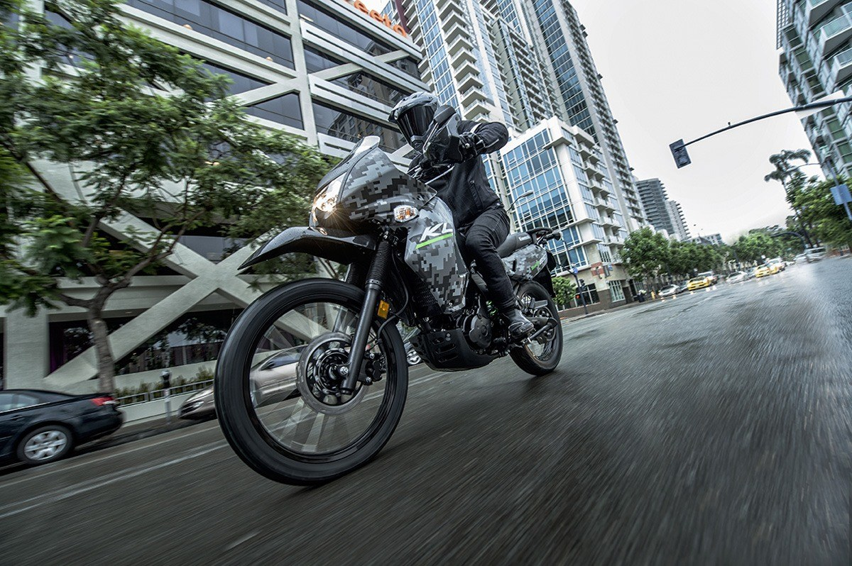 2016 Kawasaki KLR 650 Camo in San Francisco, California - Photo 10