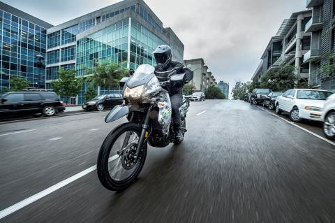 2016 Kawasaki KLR 650 Camo in San Francisco, California - Photo 11