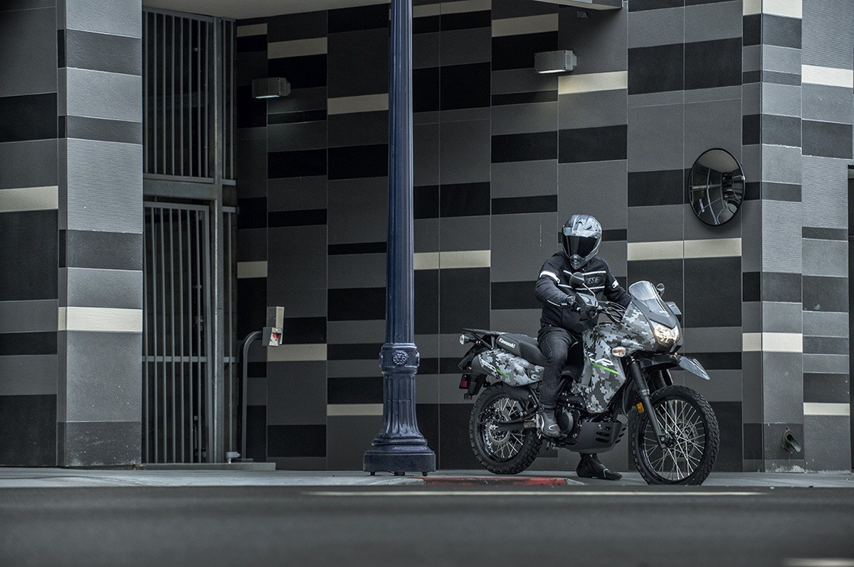 2016 Kawasaki KLR 650 Camo in San Francisco, California - Photo 12