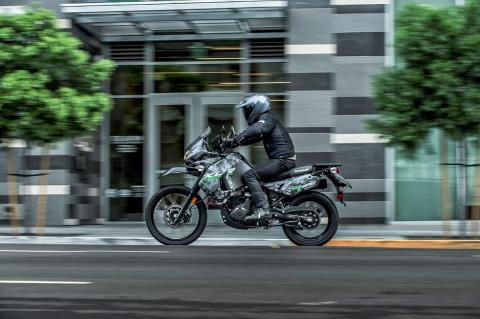 2016 Kawasaki KLR 650 Camo in Massillon, Ohio