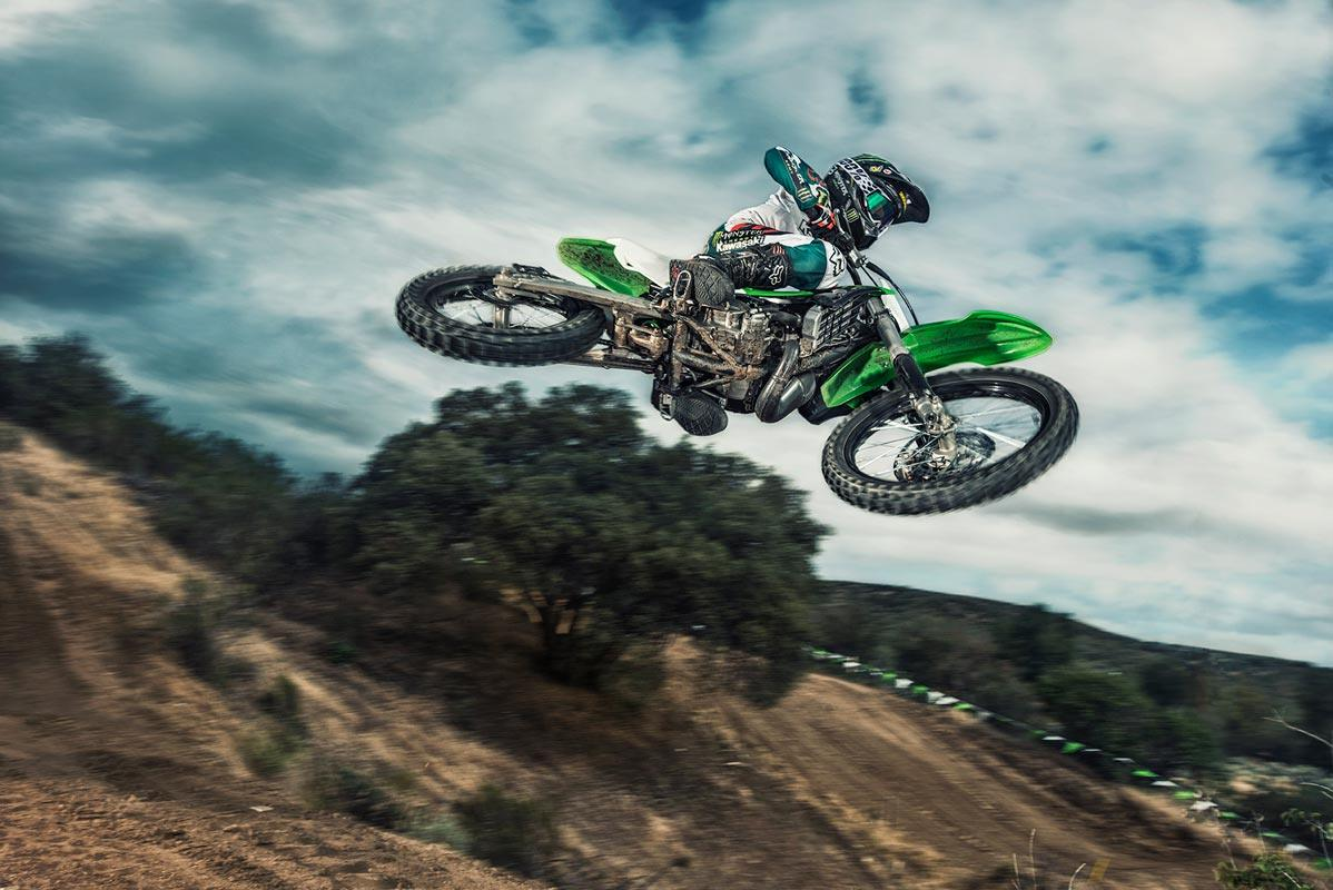 2016 Kawasaki KX100 in Barre, Massachusetts