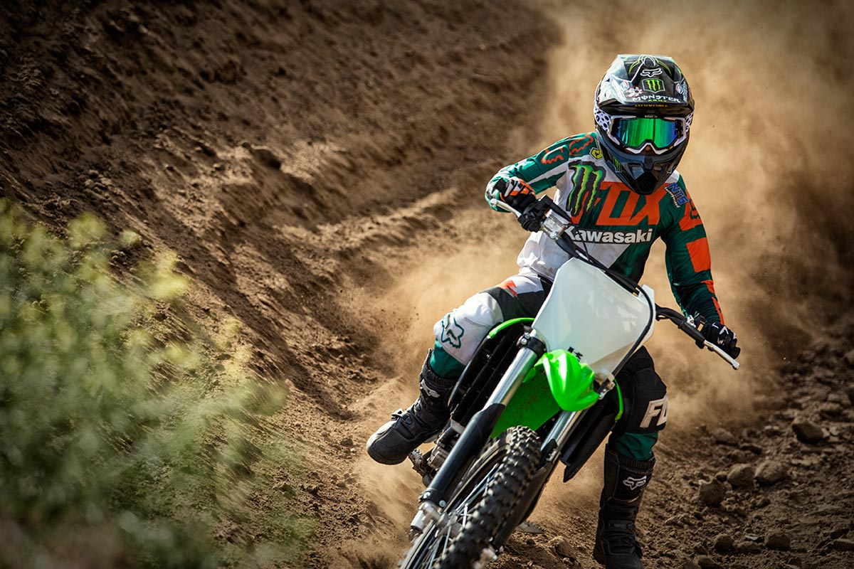 2016 Kawasaki KX100 in Winterset, Iowa
