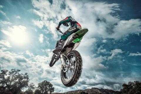 2016 Kawasaki KX100 in North Reading, Massachusetts