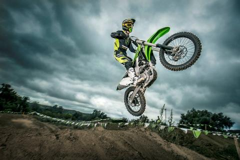2016 Kawasaki KX250F in Howell, Michigan