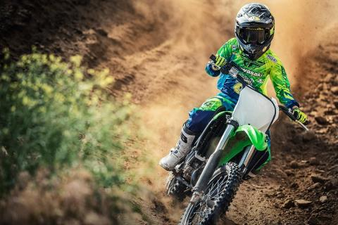 2016 Kawasaki KX85 in Rock Falls, Illinois