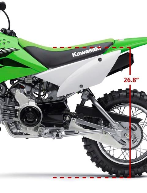 2016 Kawasaki KLX110 in North Reading, Massachusetts - Photo 6