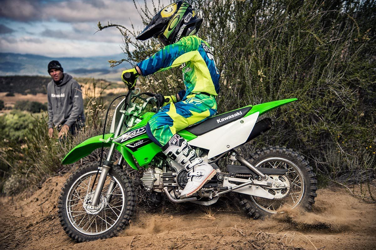 2016 Kawasaki KLX110 in North Reading, Massachusetts