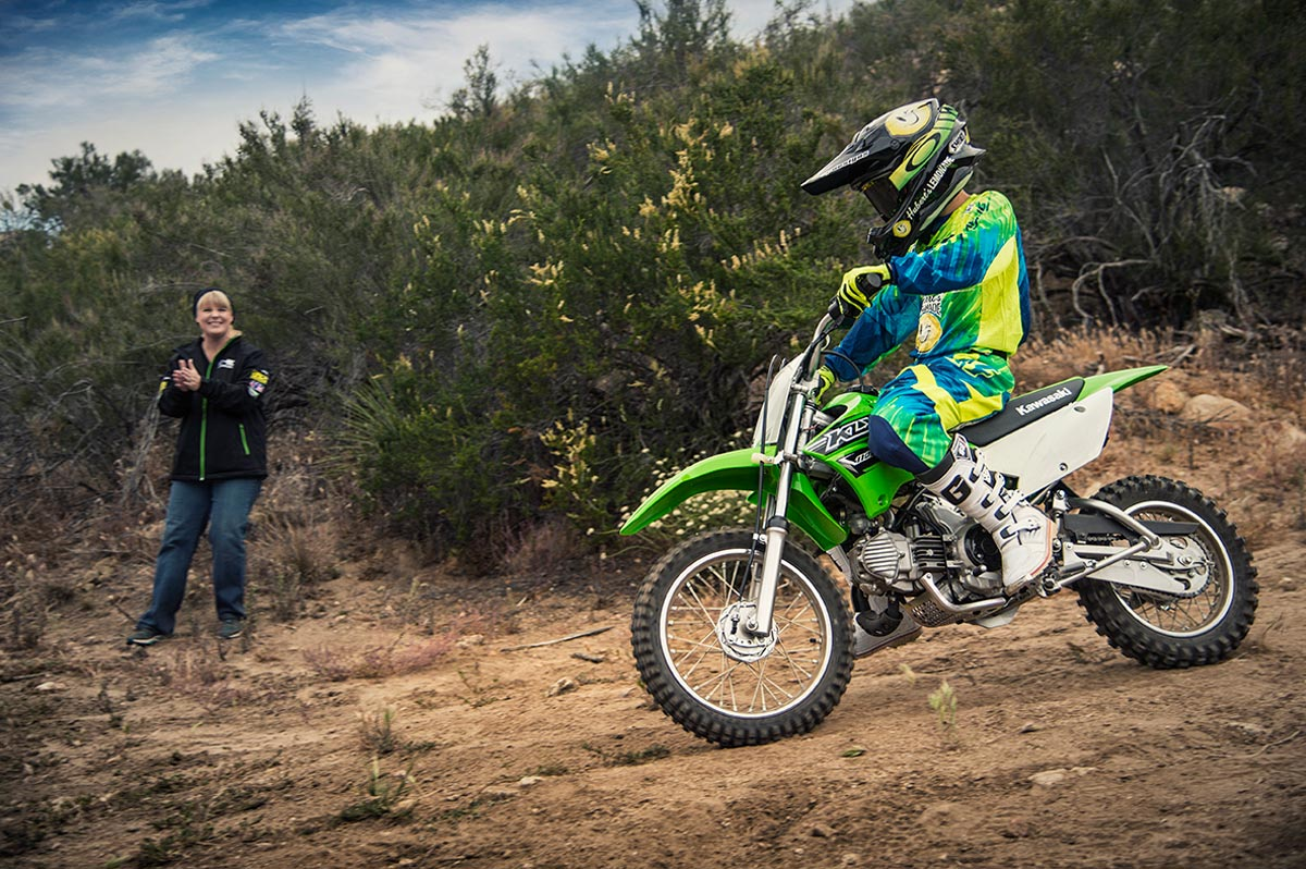 2016 Kawasaki KLX110 in North Reading, Massachusetts - Photo 13