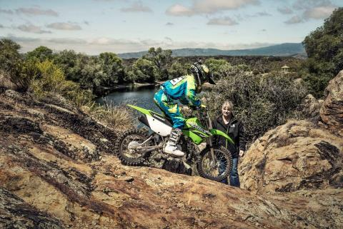 2016 Kawasaki KLX110 in North Reading, Massachusetts - Photo 20