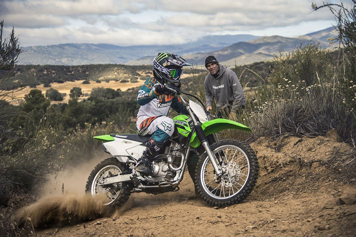 2016 Kawasaki KLX140 in Fontana, California